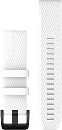 Изображение Garmin watch strap QuickFit 22mm, white silicone