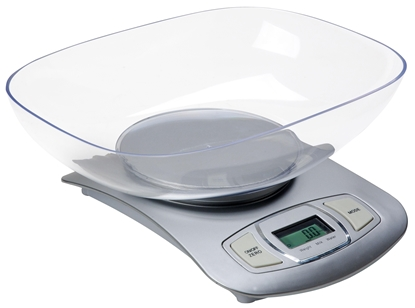 Attēls no Adler AD 3137s Electronic kitchen scale Silver Tabletop