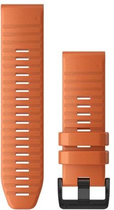 Изображение Garmin watch strap QuickFit 26mm, ember orange silicone