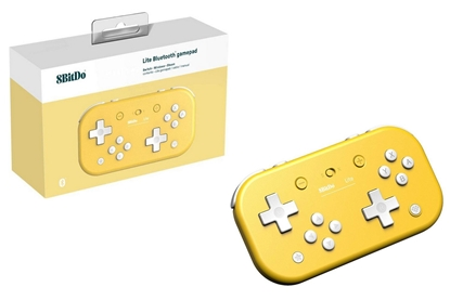 Picture of 8BitDo Lite Bluetooth Gamepad - Yellow Edition (Switch, PC)