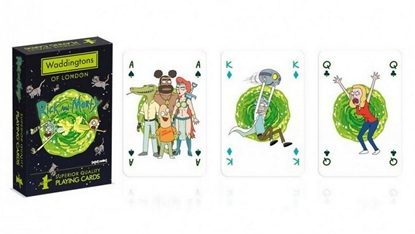 Изображение Playing Cards - Rick and Morty