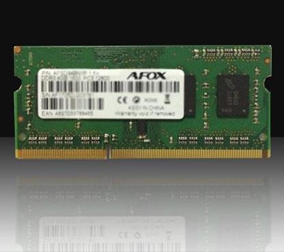 Attēls no AFOX SO-DIMM DDR3 8GB memory module 1600 MHz LV 1,35V