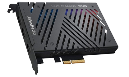 Picture of Avermedia Live Gamer DUO GC570D video capturing device Internal PCIe