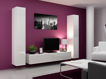 Изображение Cama TV Stand VIGO '180' 30/180/40 white/white gloss