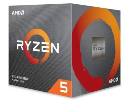 Picture of AMD   CPU Desktop Ryzen 5 6C/6T 3500X (3.6/4.1 Boost GHz,35MB,65W,AM4) box, with