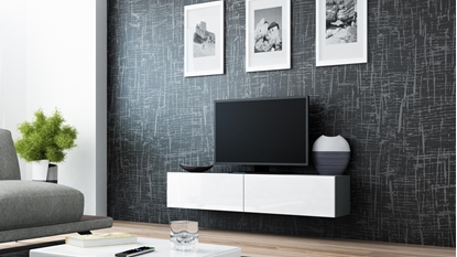 Изображение Cama TV stand VIGO 140 30/140/40 grey/white gloss