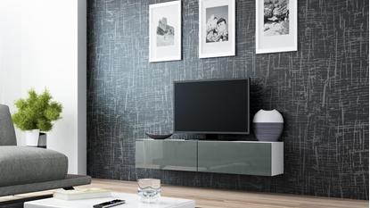 Изображение Cama TV stand VIGO 140 30/140/40 white/grey gloss