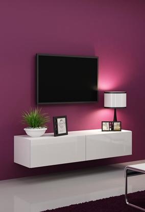 Изображение Cama TV stand VIGO 140 30/140/40 white/white gloss