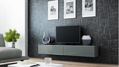 Изображение Cama TV Stand VIGO '180' 30/180/40 grey/grey gloss