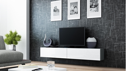 Изображение Cama TV Stand VIGO '180' 30/180/40 grey/white gloss