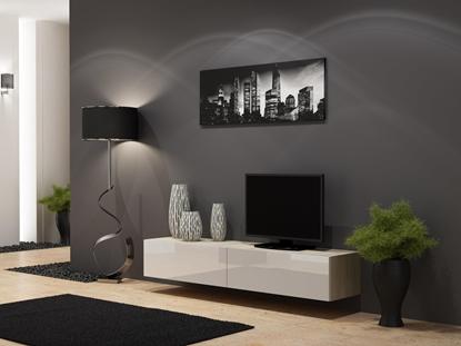 Изображение Cama TV Stand VIGO '180' 30/180/40 sonoma/white gloss