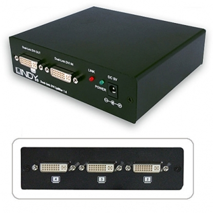Picture of 4 Port DVI-D Dual Link Splitter