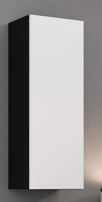 """Attēls no Cama Cabinet VIGO """"90"""" full 90/35/32 black/white gloss"""