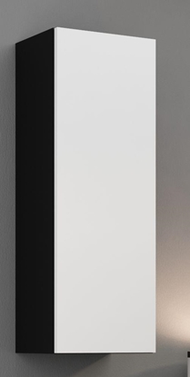 "Изображение Cama Cabinet VIGO ""90"" full 90/35/32 black/white gloss"