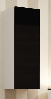 """Attēls no Cama Cabinet VIGO """"90"""" full 90/35/32 white/black gloss"""