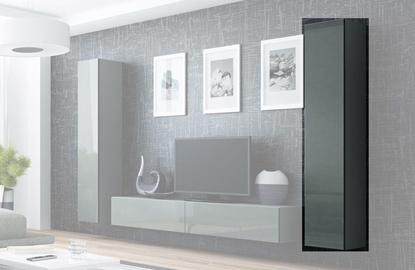 Attēls no Cama Full cabinet VIGO '180' 180/40/30 grey/grey gloss