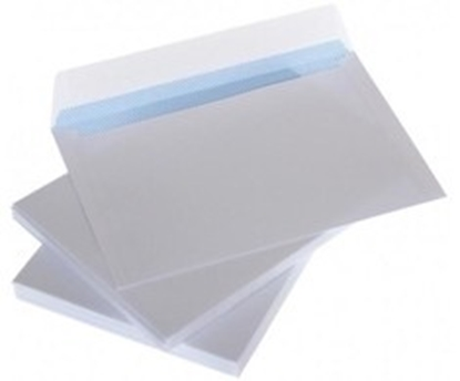 Picture of Envelopes C5 white with ribbon and internal press 162x229 mm 50 psc.