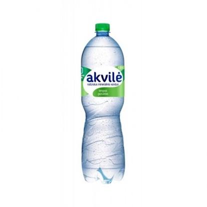Attēls no Mineral water Akvilė, slightly carbonated, 1.5l (6psc.)