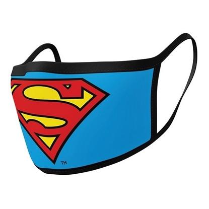 Изображение Face Mask 2-Pack: DC Comics - Superman Logo