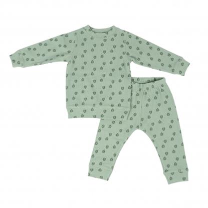 Picture of Akcija! Lodger Nombad Rib bērnu pidžama, 86 izm, Silt Green