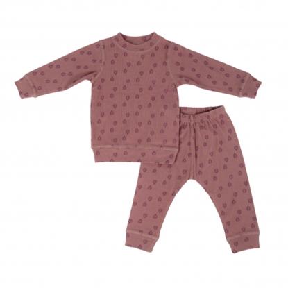 Picture of Akcija! Lodger Nombad Rib bērnu pidžama, 92 izm, Rosewood