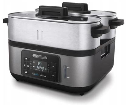 Изображение Morphy Richards 48780 steam cooker 3 basket(s) Black,Stainless steel 1600 W