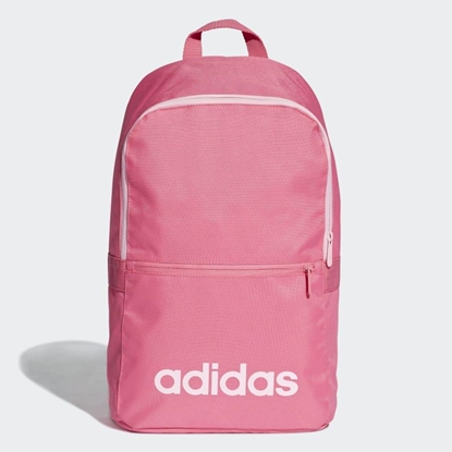 Изображение Adidas Linear Classic Daily backpack Polyester Gray, Pink