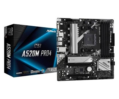 Picture of ASROCK A520M PRO4 AM4 2xDDR4 mATX MB