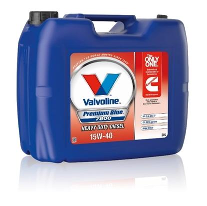 Изображение Motoreļļa Premium Blue 7800 15W40 20L, Valvoline