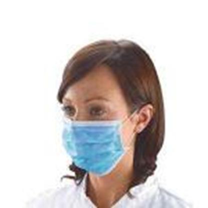 Изображение Medicīniskas 3-kārtas sejas aizsargmaskas EN14683 Type-1 50g