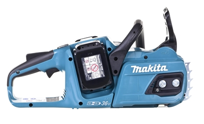Изображение Makita DUC355PT2 chainsaw Black,Blue 18V