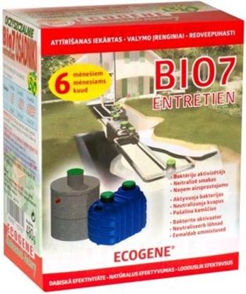 Attēls no BIO7 ENTRETIEN baktērijas kanaliz.attīr.iek. 480gr