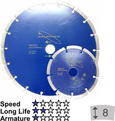 Attēls no Griešanas disks dimanta Galactica 125x10x22,2