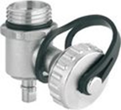 """Изображение Kolektora nolaišanas/presēšanas ventilis 1/2""""ā.v."""