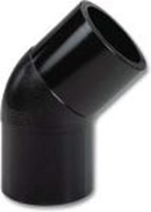 Изображение PE kontaktmetin. līkums 45' Pn10 D200