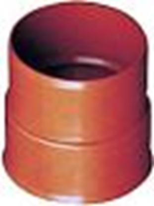Attēls no PRAGMA caurules Dn200 savienojums ar PVC 200 uzmav