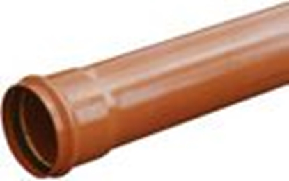 Attēls no PVC caurule 110x3,4 T8; 1m Wavin
