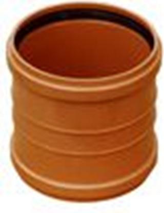 Picture of PVC dubultuzmava Dn110 Wavin