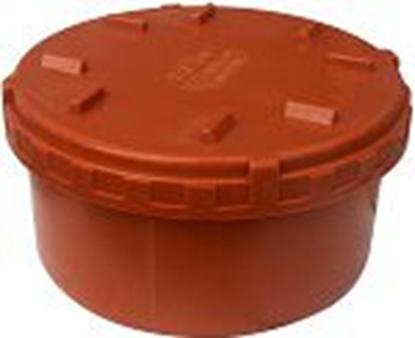 Изображение PVC īscaurule ar uzskrūvējamu vāku Dn200 Uponor