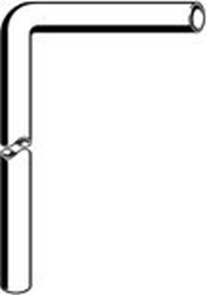 Изображение Sifona līkums plastmasas 32x220x680 Viega