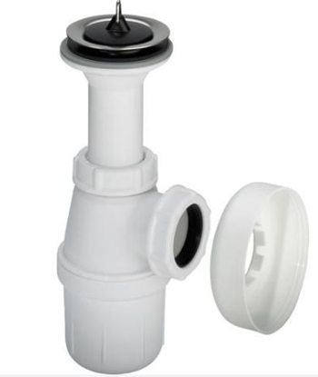 Изображение Sifons glāze ar izplūdi, bez caurul. 1 1/4''xD32mm