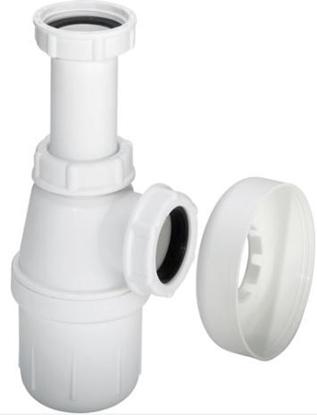 Изображение Sifons glāze ar rozeti, bez caurules 1 1/2''xD40mm