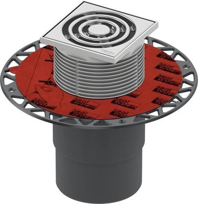 Изображение TECEdrainpoint S traps d110mm,vert.,100x100 režģis