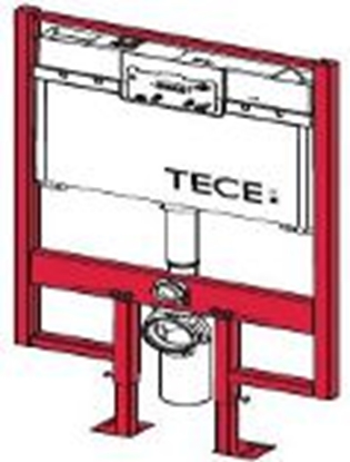 Изображение TECEprofil WC modulis 8cm biezumā