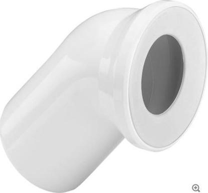 Изображение WC līkums 45° balts Viega