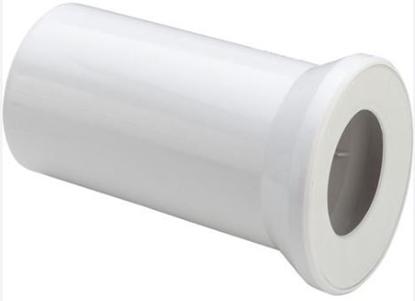 Изображение WC pieslēgs L=150mm, balts Viega