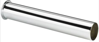 Изображение Caurule notecei D32mm,L-200mm hromēta ar valcējumu