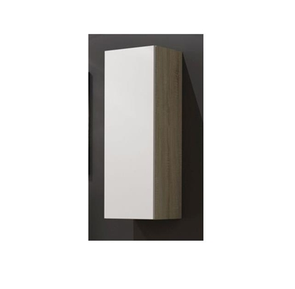"Изображение Cama Cabinet VIGO ""90"" full 90/35/32 sonoma/white gloss"
