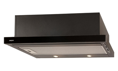 Picture of Akpo WK-7 Light eco glass 220 m3/h Built-under Black