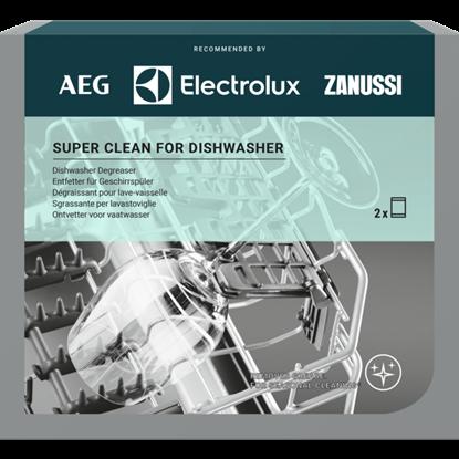 Изображение Akcija! Electrolux Super Clean - attaukotājs trauku mazgājamajām mašīnām, iepakojumā 2 gab.x50g